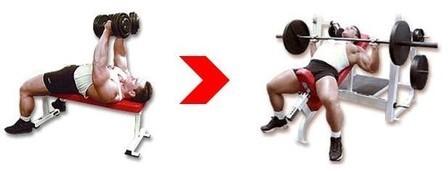 Суперсет - Грудные мышцы