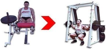 Суперсет - Четырёхглавые мышцы бедра...