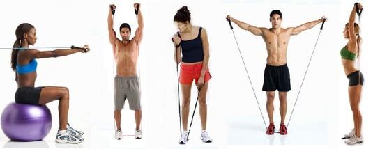Упражнения с эспандером #1