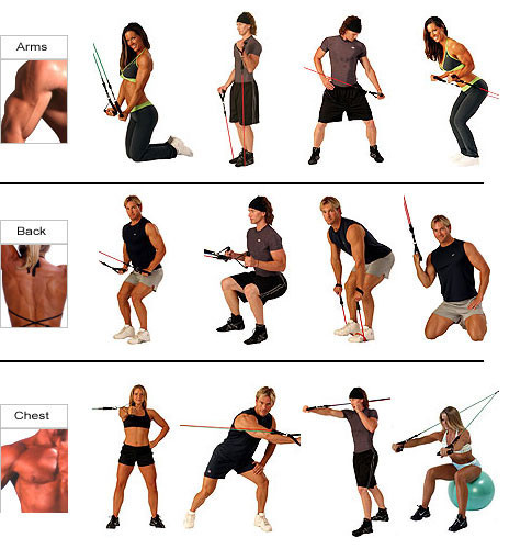 Упражнения с эспандером #2