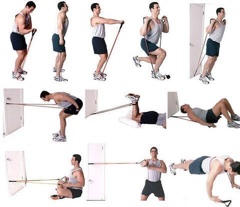 Упражнения с эспандером #3