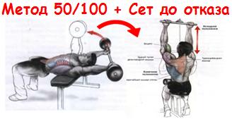 Упражнение 3+4 (Двойной суперсет)