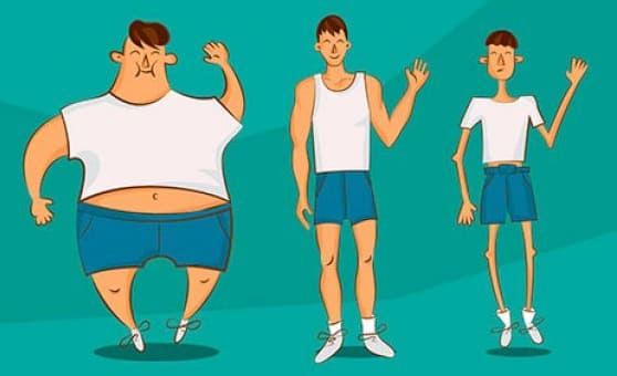 Тренировки по типу телосложения.