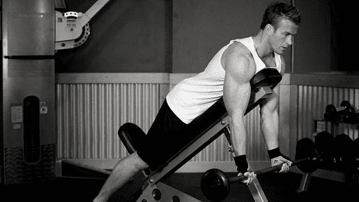 Суперупражнение для мышц бицепса