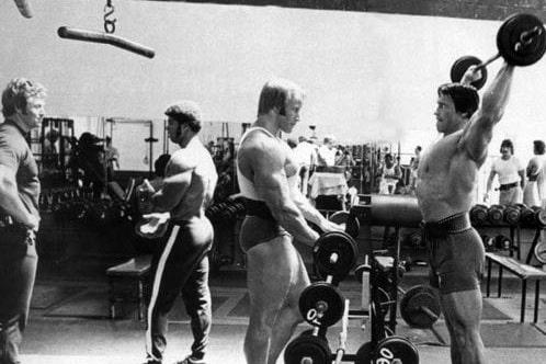 Рабочие веса и мышечный рост.